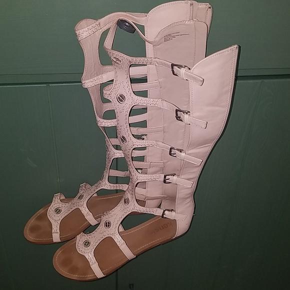 25b016cf0c3 Kensie Shoes - Kensie Gladiator Style Knee Length Sandals